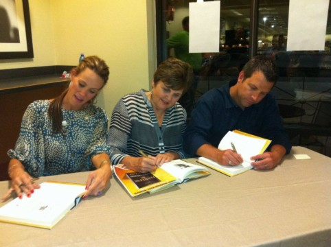 Eric Blehm_Fearless booksigning 2 with Brown family