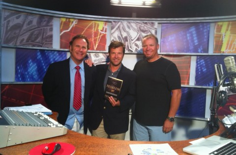 Eric with Rusty T. Nailz and Bob Sully Sullivan